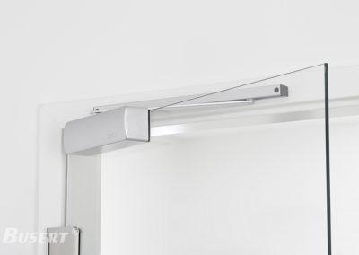 Obentürschließer Premium mit Gleitschiene für Glastüren TS_002