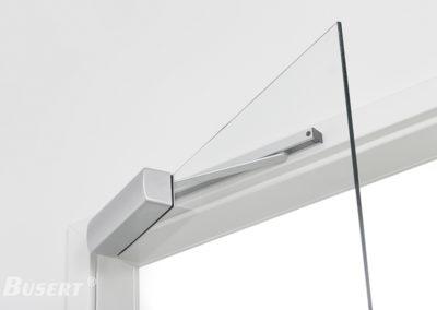 Obentürschließer Premium mit Gleitschiene für Glastüren TS_003