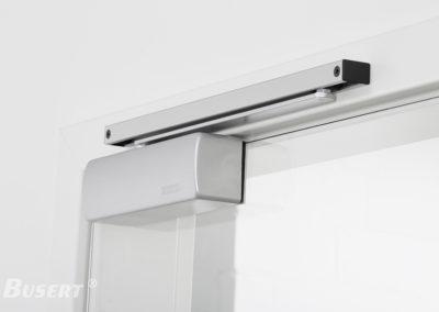 Obentürschließer Premium mit Gleitschiene für Glastüren TS_008