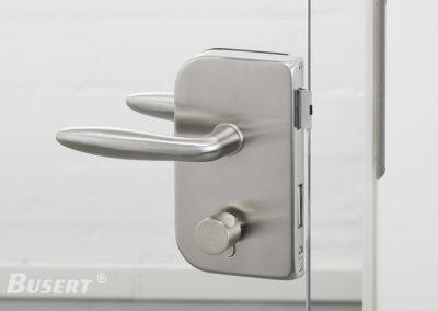 GS100 Office WC edelstahl - Drücker Casual