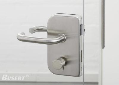 GS100 Office WC edelstahl - Drücker Smart