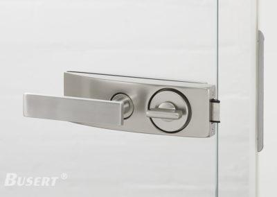 GS50 Studio WC edelstahl - Drücker Belle