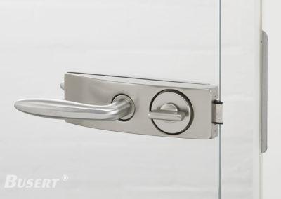 GS50 Studio WC edelstahl - Drücker Casual