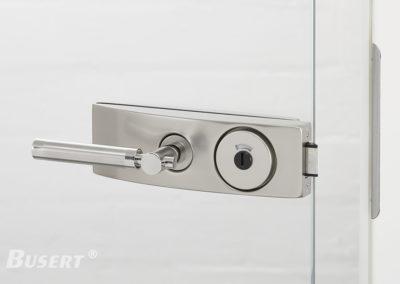 GS50 Studio WC edelstahl - Drücker Exclusiv (Ansicht Gegenseite)